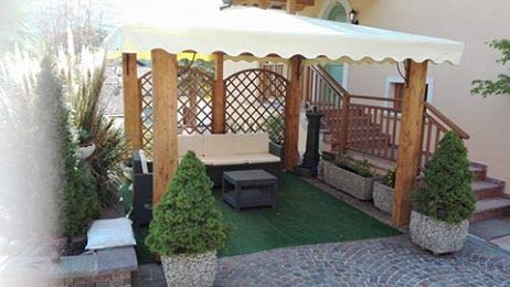 DEKALUX Gazebo in Legno 3,5x3,5 Made in Italy