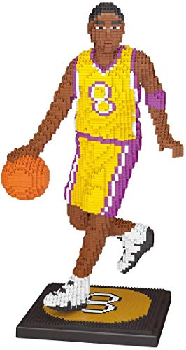 YZHM NBA 3200pcs Diamond Blocks Basketball Star Model NO.24 NO.8 Black Mamba Kobeing Building Block Model Brick Toys For Fans' Children Gift,NO.8