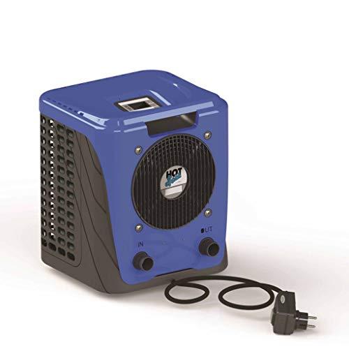 Hot Splash Wärmepumpe UV-beständiges Gehäuse Schwimmbadheizung Poolheizung Heizung Pool Wärme Pumpe Luft Wasser Wärmetauscher 15m³ Pool 3,5kw