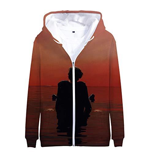 Harry Styles Pullover Mantel-Jacken-Verpackungs-Outer Anzug Soldatenmantel Mann und Frau Trend beiläufige Art und Weise kühlt Wild Style Unisex (Color : A04, Size : Height-185cm(Tag XXL))