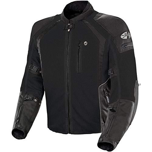 Joe Rocket 1516-4003 Phoenix Ion Men's Mesh Motorcycle Jacket (Black, Medium)