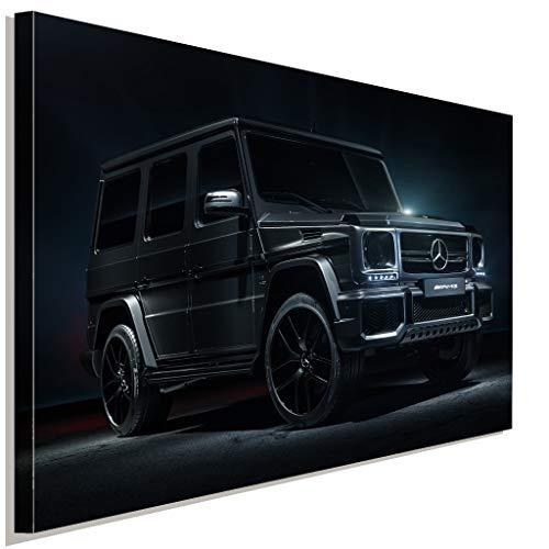 AK ART Mercedes G Klasse AMG Leinwandbild Kunstdruck Mehrfarbig Wandbild TOP XXL (100x75cm)