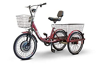EWheels  EW-29  Scoot-Around Pedal or Electric Power 3 Wheel Trike with 3 Year Extended Warranty