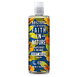 Made using 100 percent natural Fragrance Blends grapefruit and organic orange essential oils Keep your skin healthy and glowing Free from parables and SLS Vegan and cruelty-free