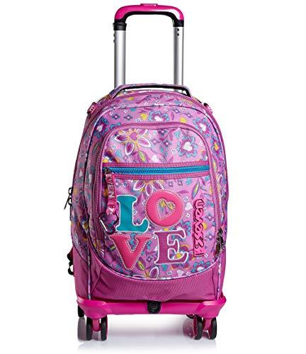 41CwuMZuvQL - Trolley Backpack Seven Jack 4WD Love Songs