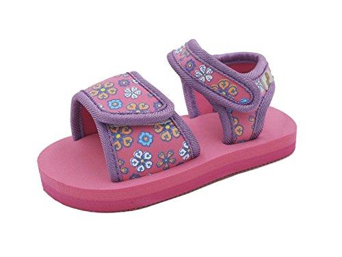 Urban Beach Infant/Childs/Girls Safi Sandals/Flip Flops UK 5-10 (UK 9 (EU 27), Pink)