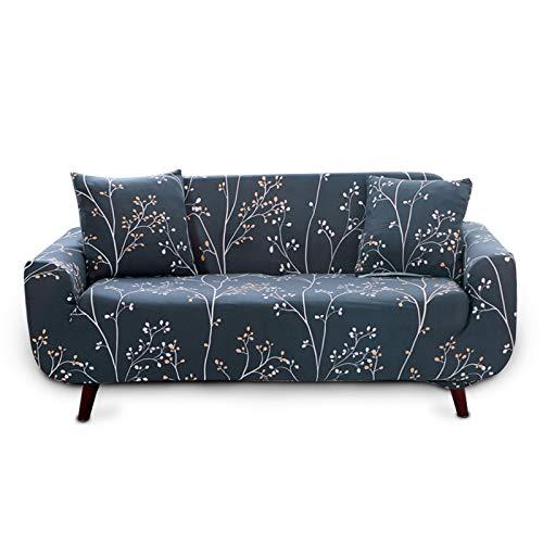 ENCOFT 1/2/3/4 Sitzer Sofabezug Sofaüberwurf Stretch weich elastisch farbecht (Type-3, 1 sitzer)