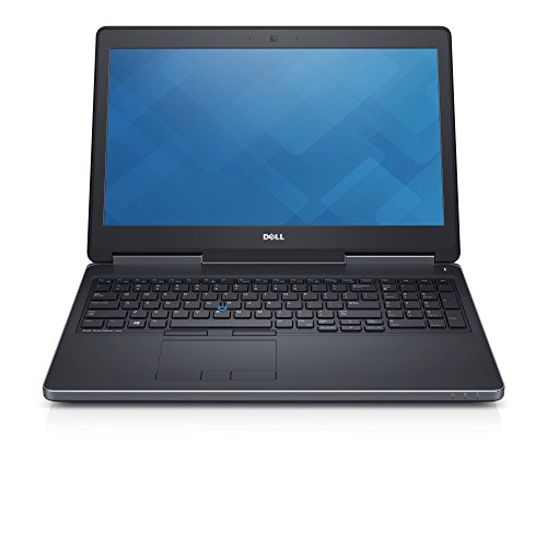 Dell Precision 7510 15.6in Laptop, Core i7-6820HQ 2.7GHz, 16GB Ram, 512GB SSD, Windows 10 Pro 64bit, Webcam (Renewed)