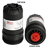 V-PRO H.D FF63009 Fuel Filter for Cummins 5303743 Replaces FF63008 Element FH22168 with High Performance Cummins B/L Series Engine Filtration,Contaminant Holding Cap Protection Fuel System Life (1SET)
