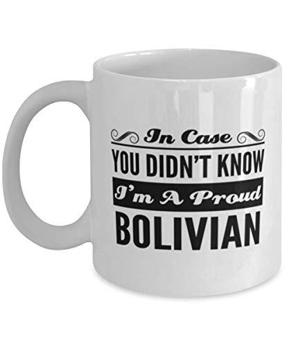 N\A Taza de café egipcia - En Caso de Que no supieras Que Soy un Orgulloso - Divertida Taza de té de 11 oz para Amigos egipcios, compañeros de Trabajo, Hombres, Mujeres