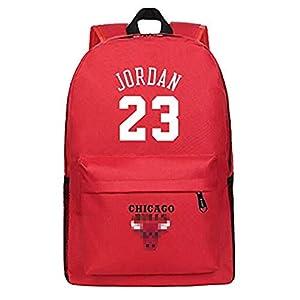 King-mely Michael Jordan 23 Mochilas Mochilas Escolares Mochilas Mochilas Bolsas De Viaje Escolares para Estudiantes…
