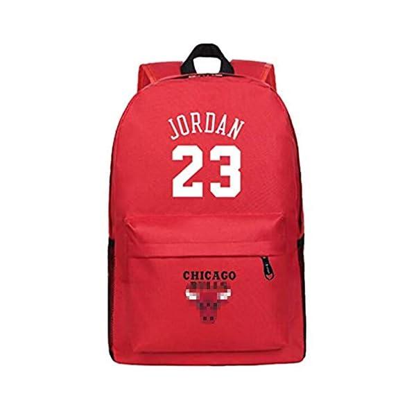 41CwvuNA1OL. SS600  - King-mely Michael Jordan 23 Mochilas Mochilas Escolares Mochilas Mochilas Bolsas De Viaje Escolares para Estudiantes…