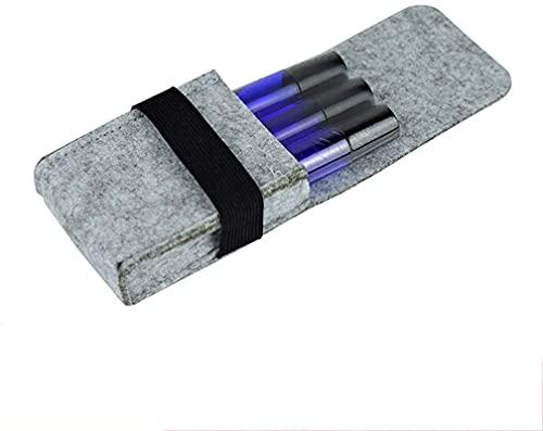 OH Joyería Caja de Alenamiento Esencial Aceite Llevar Caja Bolsa Botellas Aceites Esenciales Organizador de Viaje Bolsa de Bolsa para 10Ml Aceites Joyero Cajas Seguro y fuerte/Púr