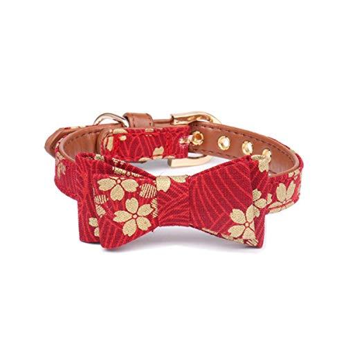 YONFAN Hundehalsband Krawatte Katzenhalsband Verstellbar Hund Katze Halstuch für Kleine und Mittelgroße Hunde, Welpen, Katzen, Haustier