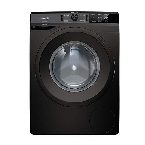 Gorenje WE 74S3 PB Waschmaschine/Schwarz/A+++/7 kg/Automatikprogramm/Schnellwaschprogramm/Energiesparmodus