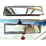 espejo retrovisor interior Espejo de la vista trasera del automóvil interior ajustable, clip en los espejos retrovisores, espejo retrovisor curvado de gran angular, espejos de puntos ciegos interiores