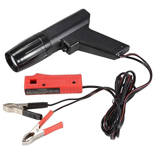 luz de sincronización del motor12V,Luz de sincronización de inducción de xenón, TL-122 pistola de luz de sincronización de encendido de xenón automotriz con pantalla LED, para automóvil, motocicleta