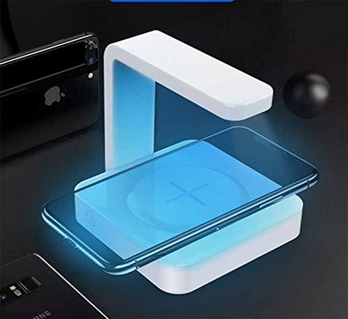 UV-Sterilisator-Reiniger Smartphone-Desinfektionsmittel, mit USB-Ladegerät für iPhone 6/7/8/x/8 Plus, Galaxy S6 S7 S8 S9, Android-Handy, Schmuck, Armbanduhr, Geldbörse oder andere Gegenstände