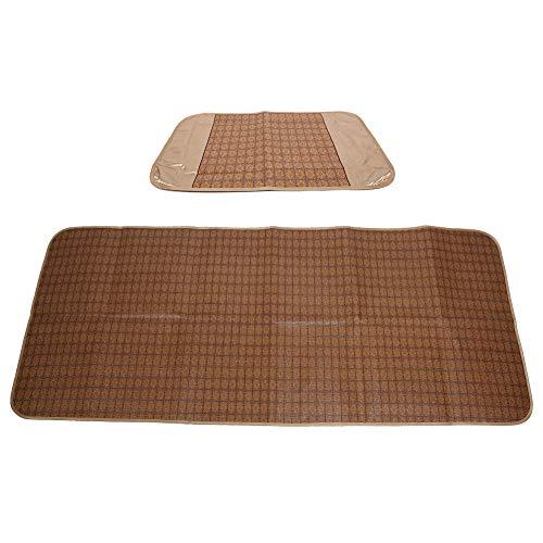 Wosune Colchoneta para Dormir de Verano, colchones de bambú para Enfriar, para niños
