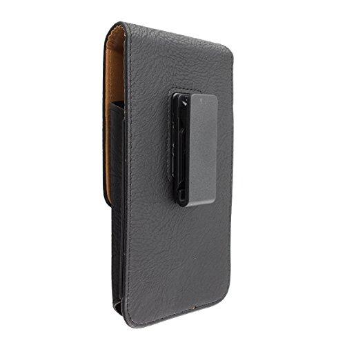 caseroxx Handy Tasche Outdoor Tasche für GOCLEVER Quantum 470 Rugged Pro, mit drehbarem Gürtelclip in schwarz