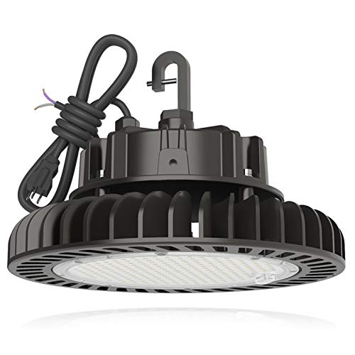LED High Bay Light 150W 21,000LM (140LM/W) 1-10V Dimmable, 5