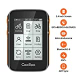 CooSpo Bike Navigation Computer GPS for Bicycles 2.4 Inch LCD Display Support Bluetooth
