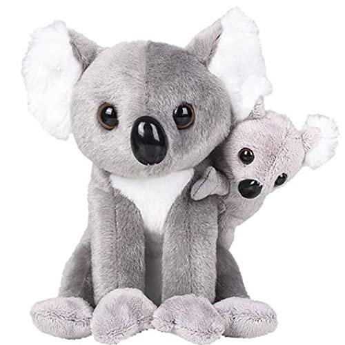Tribello Small Koala Stuffed Animal with Baby Hanging Koala Bear Plush Toys 6.5 inch