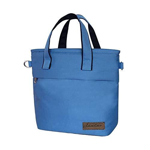 Luier Handtassen Mummy Mini Tassen Kinderwagen Eenvoudige Carrier Nappy Opslag Tassen Grijs Rood Geel Blauw 23 * 25 * 11Cm MPB12-blue