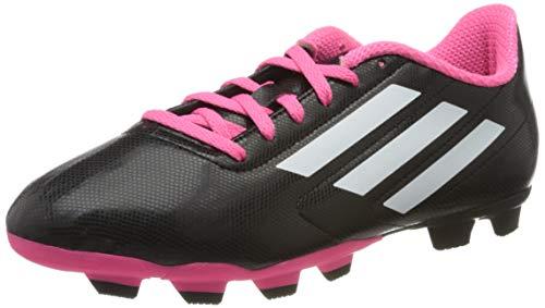 adidas Unisex-Kinder Conquisto FG J Fußballschuhe, Schwarz (Black B25594), 27 EU