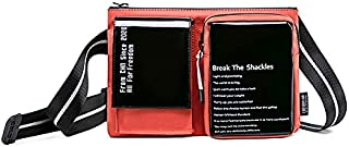 GNATISA Cross-body Stylish Sling Bag with Detachable Mobile Phone Holder Wallet Purse for Men and Women
