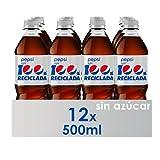 Pepsi Light Refresco De Cola, Botella, 12 x 500 ml