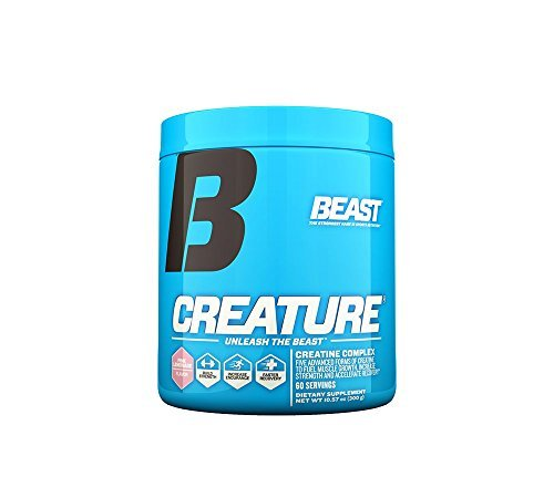Beast Sports Nutrition, Creature Creatine Complex, Pink Lemonade, 10.58 Ounce by Beast Sports Nutrition
