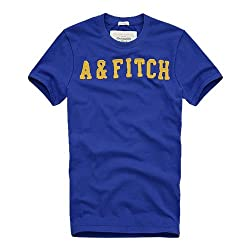 4ce29ffbe30df7 アバクロンビー&フィッチ Abercrombie&Fitch アバクロ メンズ アバクロ Tシャツ 半袖 Oulusuka Pass 並行輸入品 ロゴTシャツ