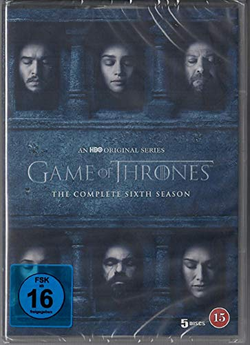 Game of Thrones - Staffel 6 [5 DVDs] [EU Import mit Deutscher Sprache]