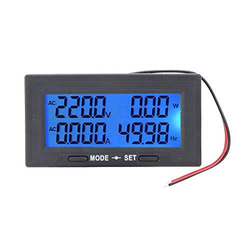 Smart Strömstes Digital LCD-skärm AC-spänning Strömtestmimultimeter Ammeter Voltmetestem (# 4)