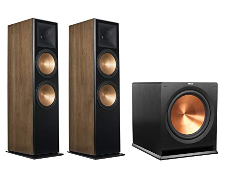 Review Of Klipsch RF-7 III Floorstanding Speaker Pair (Walnut) with Klipsch R-115SW 15 Subwoofer