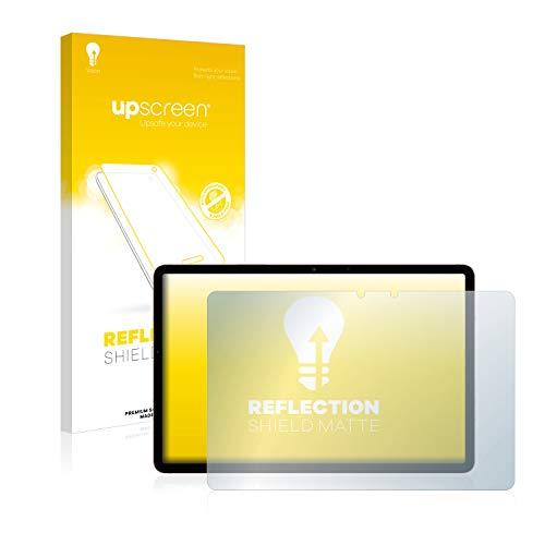 upscreen Entspiegelungs-Schutzfolie kompatibel mit Samsung Galaxy Tab S7 WiFi 2020 (im Querformat) – Anti-Reflex Bildschirmschutz-Folie Matt