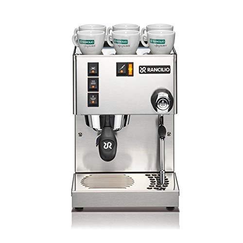 RANCILIO RA12001 Silvia Espressomaschine Edelstahl matt (950 Watt)