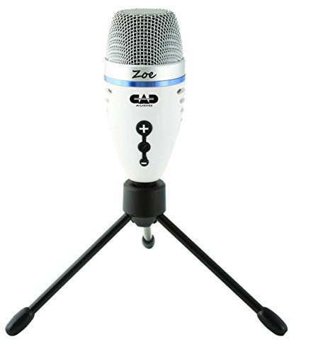 CAD Audio ZOE USB Recording Microphone with TrakMix Headphone Output