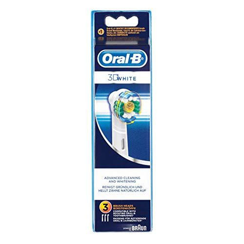 Oral-B 3D White - Set de 3 cabezal recambios para cepillo de...