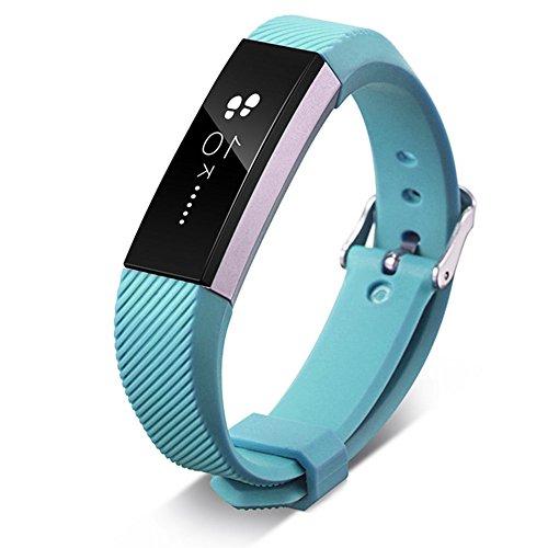 Yooger Correas Fitbit Alta Strap y Alta HR, Sky Blue Accessories Pulsera Deportiva Silicona de Repuesto para el Reloj Fitbit Alta y Alta HR Smartwatch