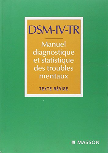 DSM-IV TR