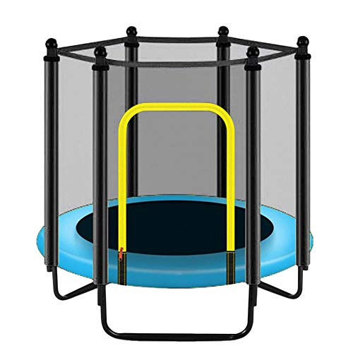 Horypt Trampoline Safety Net,Replacement Safety Enclosure Net UV-Resistant Garden Trampoline Replacement Net for 3.97ft/4.59ft/4.92ft 6 Poles Trampolines(Net Only)