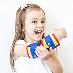 😍 STOP thumb sucking or finger sucking in just 5-21 days! Recommended #1 by Pediatric Dentists to break the thumbsucking habit; STOP hand from comfortably reaching the mouth 🙄 Other thumb guards and finger guards collect slobber and germs - kids chew...