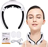 Neck Massager, Smart Neck Massager - Health Care, Stress Release, Neck Pain, Portable, Cordless, Long Battery Life, Inteligent Neck Massager, 3D Neck Massage, Relaxation Machine, for Women and Men