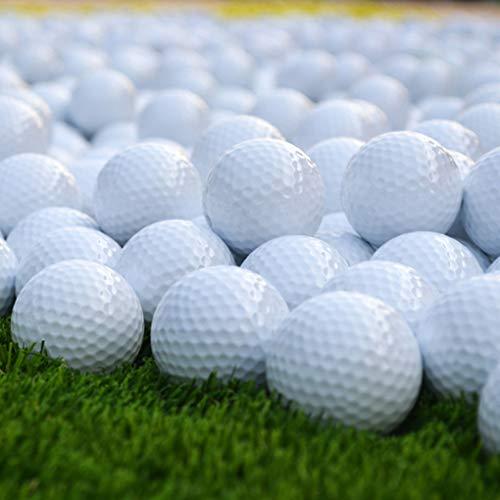 Luckiests Double-Layer-Golfübungsbälle im Freien Sport-Golf-Spiel Ausbildung Spiel Wettbewerb Ball