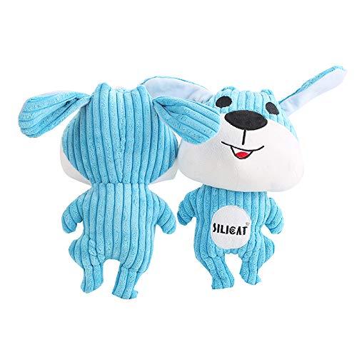 Big Blue Plush Dog Toy