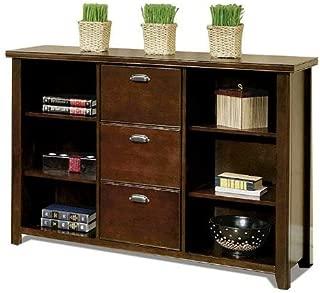 Martin Furniture Martin Tribeca Loft Cherry 3 Drawer File/Bookcase - Fully Assembled,