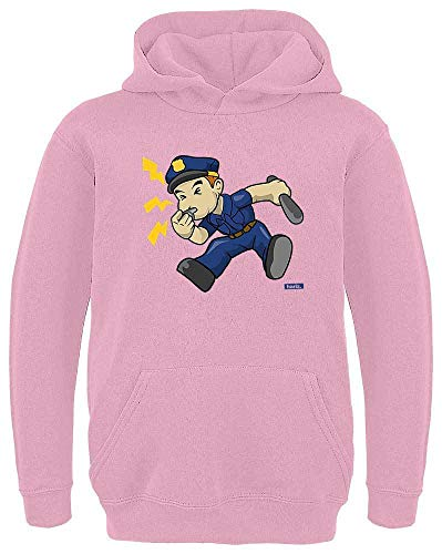 Hariz - Silbato de policía para niños, con capucha y tarjeta de regalo Rosa 12 años