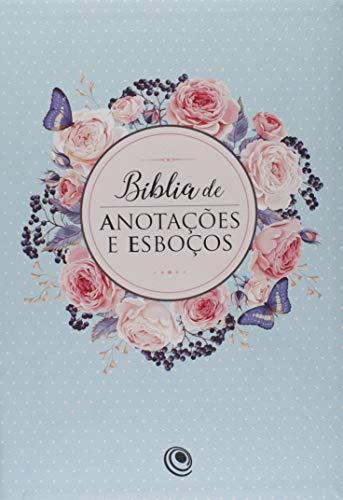 Bíblia de Anotações e Esboços. Azul